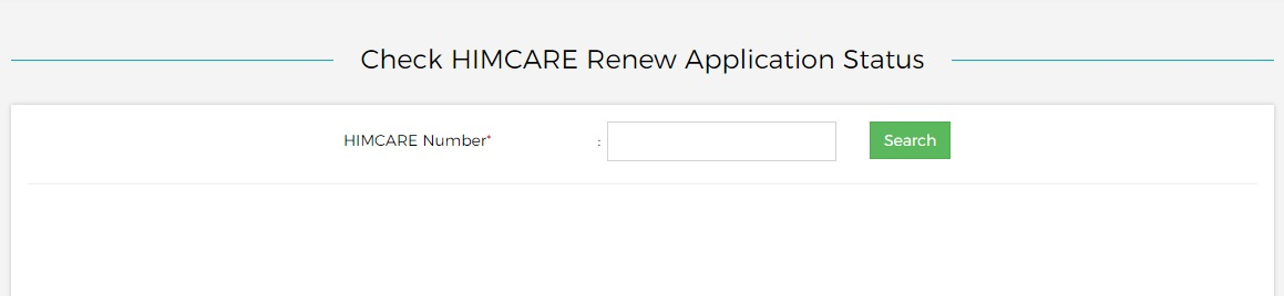 himcare renew application status